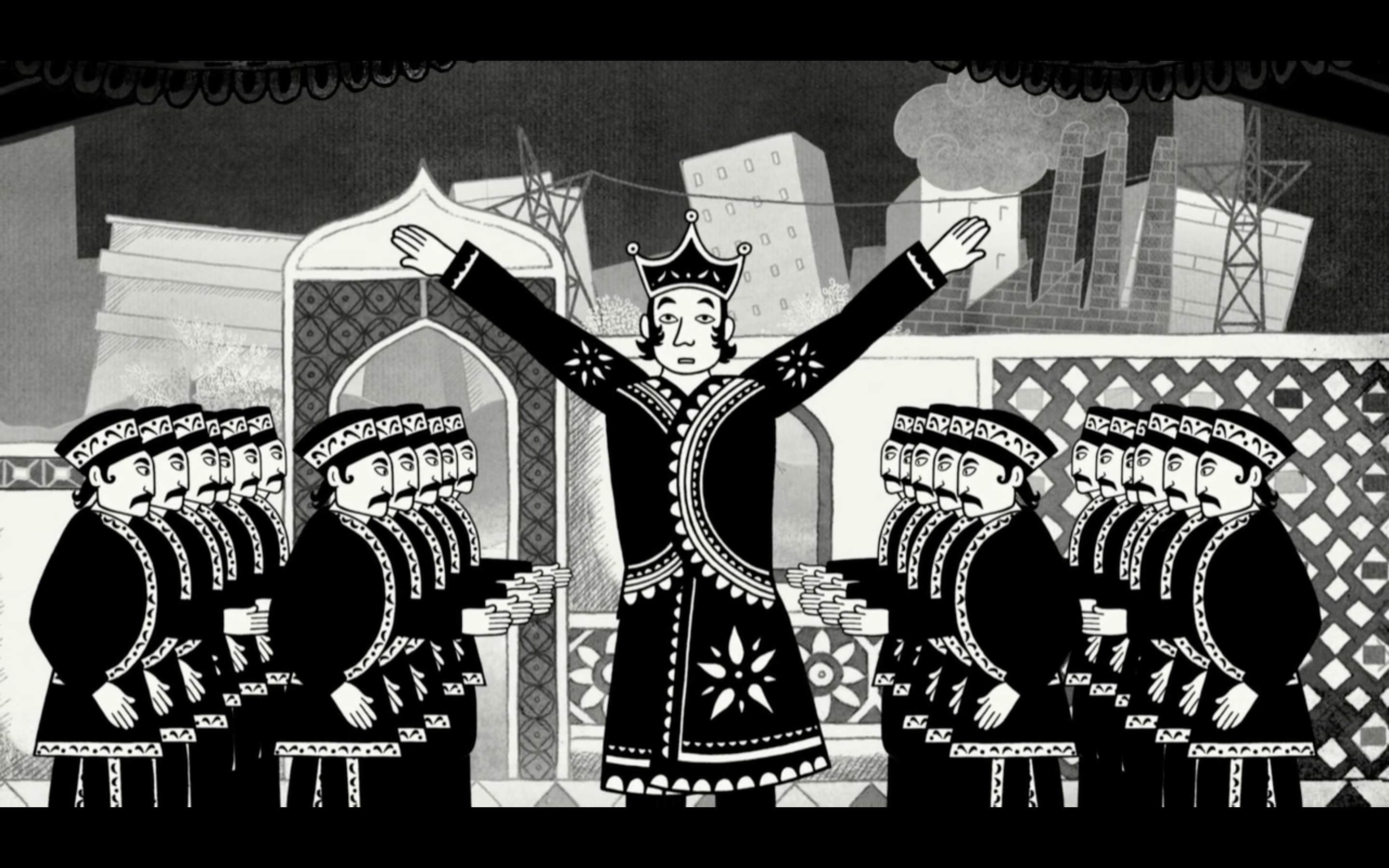 a still from the movie Persepolis